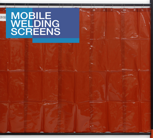 Mobile Welding Screens Pvc Curtains Get An Instant