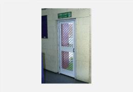 Fire Exit Mesh Insect Door