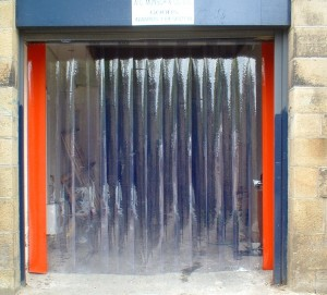 Industrial Sector Plastic Curtains